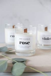 wood wick soy candle diy with downloadable labels coco With create candle labels