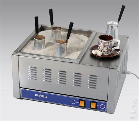 For best results, consistent heat should be maintained during heating. Coffee makers for Turkish coffee on sand - Buy on www.bizator.com