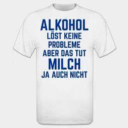 Alkohol Auf Rechnung : alkohol l st keine probleme t shirt spr che pinterest alkohol witzige spr che und shirts ~ Themetempest.com Abrechnung