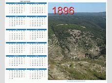 1896 Calendar