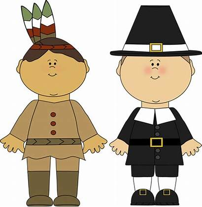 Pilgrims Pilgrim Indians Thanksgiving Indian Clipart Clip
