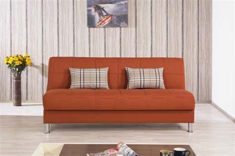 eco  orange convertible sofa bed  casamode