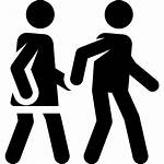 Walking Icon Svg Vector Couple Icons Park