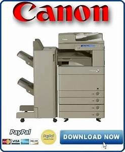 Canon Imagerunner Advance Ir 6075 6065 6055 Service Manual   Parts Catalog