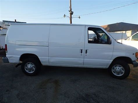 how does cars work 1997 ford econoline e350 engine control find used 2000 ford e350 e 350 work van 9500 gvw cargo carpet installer 68k original miles in