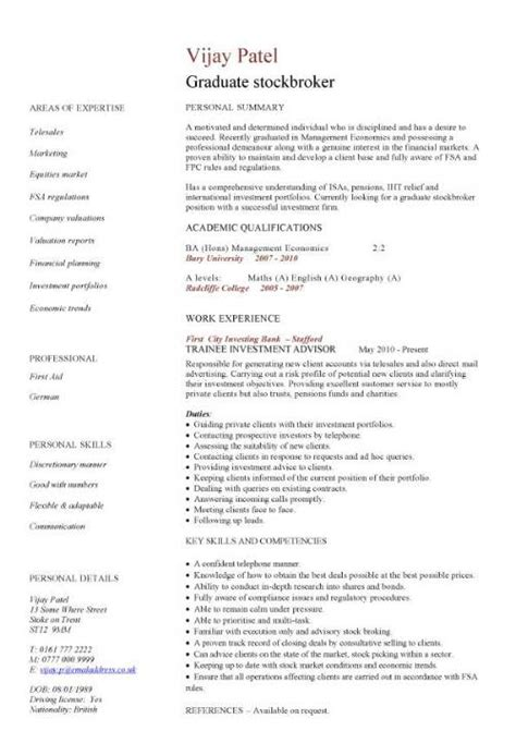 What Of Resume Should I Use For Graduate School by Financial Cv Template Business Administration Cv Templates Accountant Financial