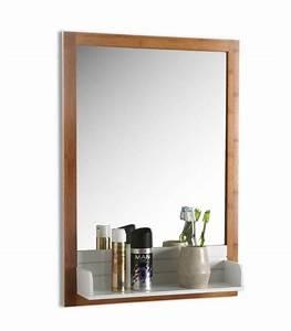 Etagere En Bois Salle De Bain : miroir et glace miroir design miroir en ligne wadiga ~ Dailycaller-alerts.com Idées de Décoration