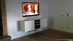 Optimale Höhe Fernseher : kabel verstecken fernseher an der wand secretstigmanet ~ Frokenaadalensverden.com Haus und Dekorationen