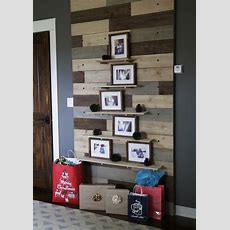 Ana White  Pallet Pegboard Wall For Ryobination