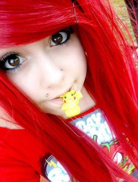 Bright Red Hair I Love It ♥ Hair I Wish I Could Try