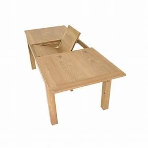 Table Repas Extensible En Teck Ankor