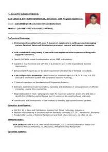 simple indian resume format doc for experienced susanta s subudhi resume 7 6 years experience pdf format