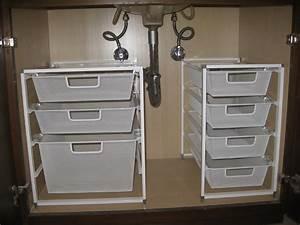 Under Bathroom Sink Organizer: Simple Tips How to Organize