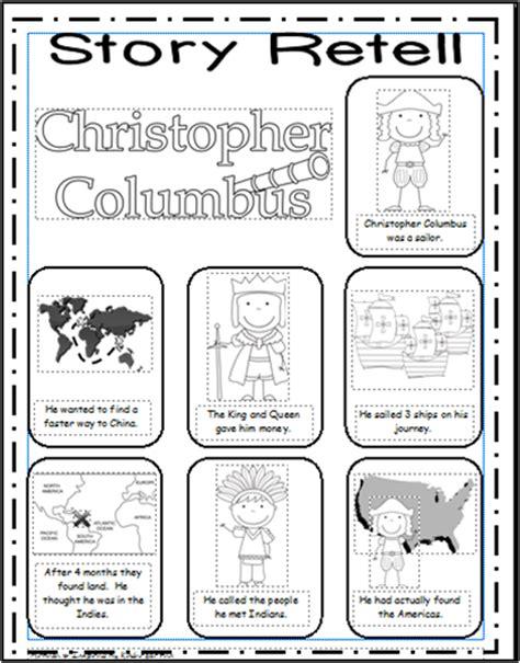 inspired by kindergarten columbus day