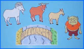 three billy goats gruff story printable 3 billy goats gruff felt flannel board set
