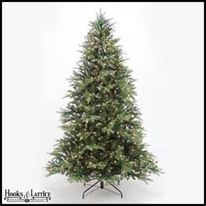7 5 ft pre lit christmas spruce trees xmas hooks and lattice