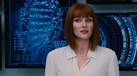 jurassic world actress shoes bryce dallas howard won t be wearing high heels in