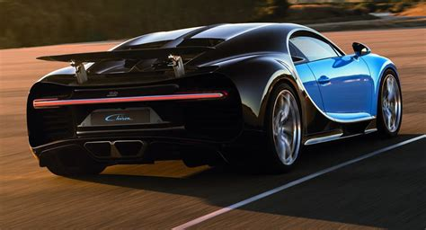 Bugatti Chiron's Official Fuel Economy Figures Are Just