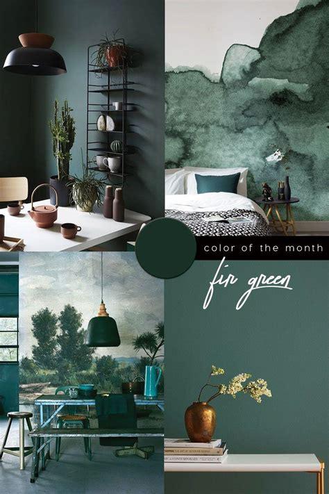 Dark Green Color Trend in 2020 Green interior design