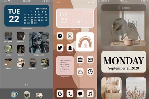 how to make aesthetic home screen ios 14 on iphone