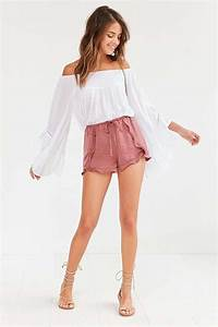 Best 25+ Flowy shorts ideas on Pinterest | Boho shorts Casual summer outfits comfy and Spring ...