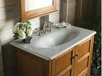 trending small bathroom sinks Hot Trends in Bathroom Fixtures | DIY