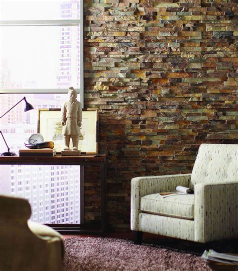 ledger interior wall transitional home office