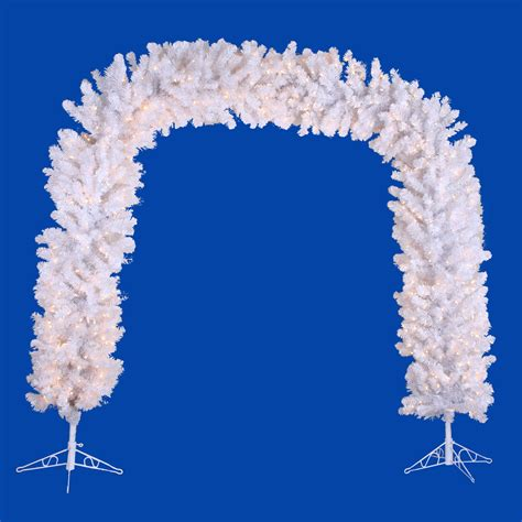 christmas tree what of tree 8 foot white arch a805746 3603