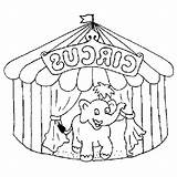 Circus Aplemontbasket Chapiteau sketch template