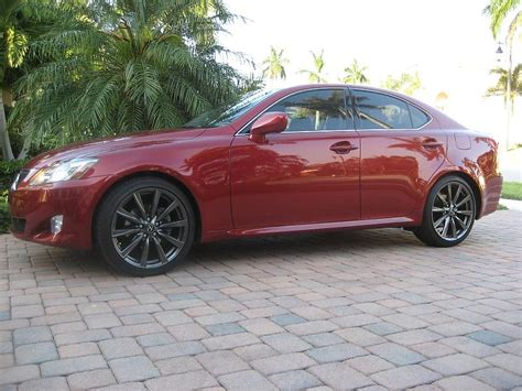 isf lexus red isf wheels on an is 250 club lexus forums