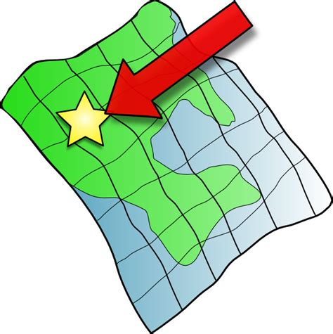 Map Clip Ruffled Map Clip At Clker Vector Clip
