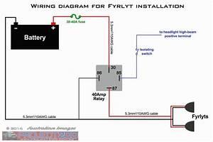 40 Amp Relay Wiring Diagram Luxury Elegant 12 Volt Relay