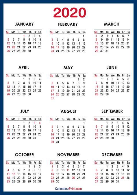 calendar printable usa holidays blue sunday start