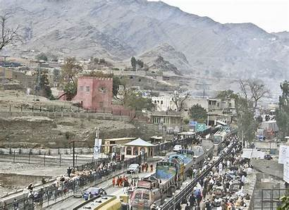 Torkham Border Afghanistan Gate Pakistan Crossing War