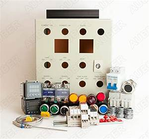 Auber Instruments Powder Coating Oven Controller Kit W  Light  U0026 Fan Control  240v 50a 12000w  Kit
