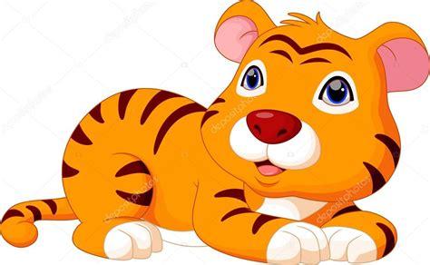 Tigre De Bebé De Dibujos Animados