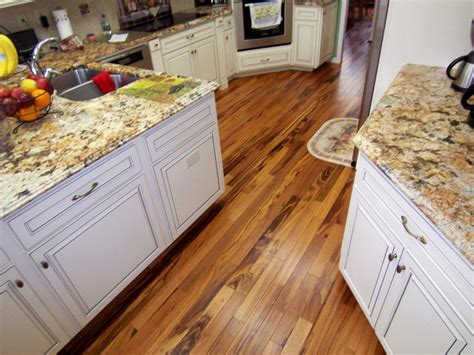 Koa Flooring With Cherry Cabinets by Prefinished Solid Rustic Tigerwood Koa Wood