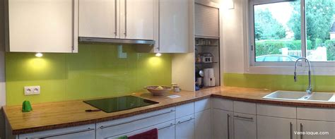 crédence en verre laqué pour votre cuisine verre laque com