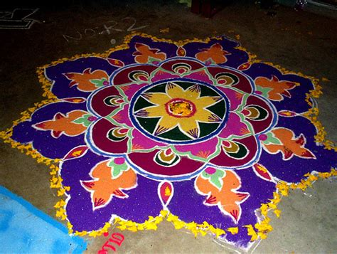 Rangoli Designs  Coloring  Part 4