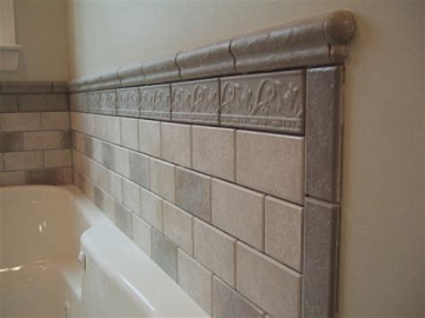 Tile Bathroom Wall Ideas by Tile Around Bathtub Ideas Bathroom Tiled Tub Wall