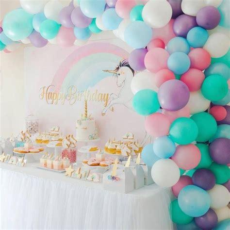 decoration ballon anniversaire fille pour organiser une