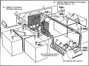 80 89 Golf Cart 36 Volt Ezgo Wiring Diagram