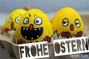 Frohe Ostern Lustig : frohe ostern mit lustigen gelben eiern spr che zu ostern ~ Frokenaadalensverden.com Haus und Dekorationen