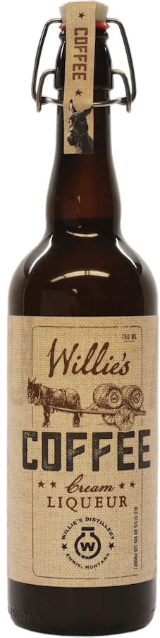 This link is to an external site that may or may not meet accessibility guidelines. Coffee Cream Liqueur - Willie's Distillery   BigFish Spirits