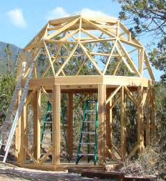 a frame cabins kits small dome cabin built with econodome frame kit