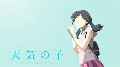 Hina Amano Fanart Anime Weathering 4k Wallpapers