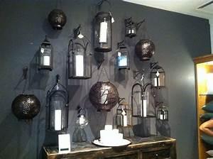 Wall of lanterns Home Decor Pinterest
