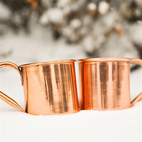 buy set   pure copper moscow mule mugs  oz size  alchemade  opensky