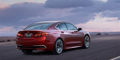 wallpaper acura tlx red 2017 new york auto show cars