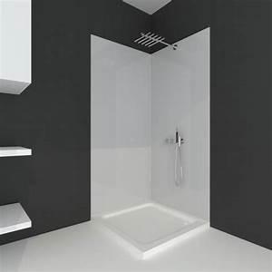 Panneau étanche Salle De Bain : panneau acrylique salle de bain ~ Premium-room.com Idées de Décoration
